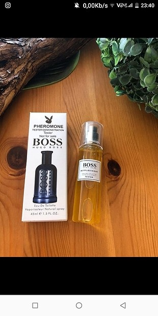 Hugo Boss bottled night erkek parfümü