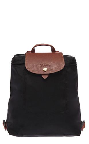 Longchamp sırt çantası siyah