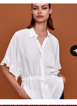 Zara etiketli gömlek