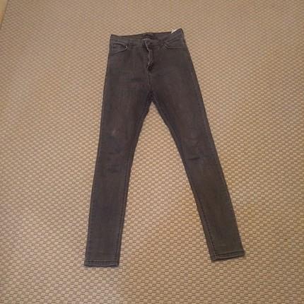 yüksek bel liklalı jean pantolon
