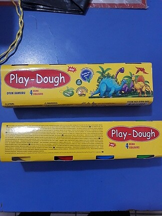Oyun hamuru 4 renk