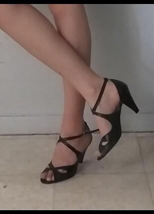 Sandalet topuklu terlik