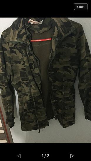 Kamuflaj baharlık ceket