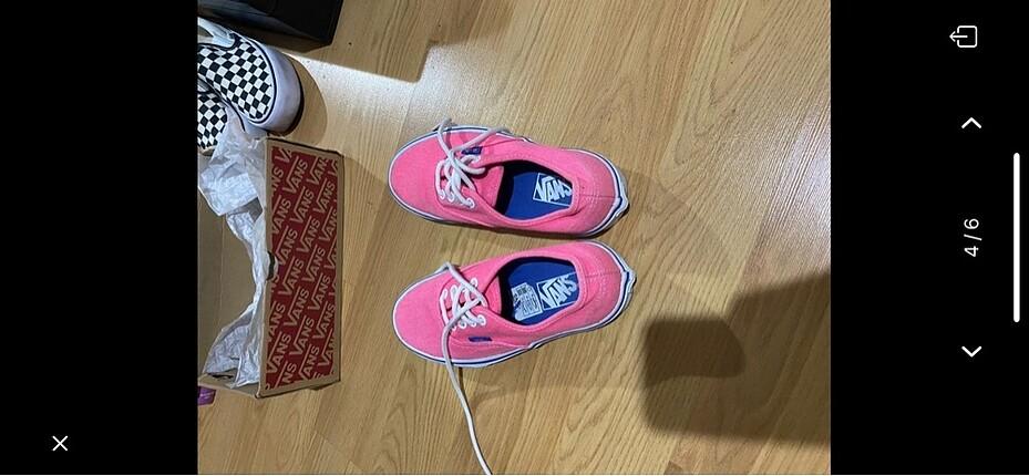 Vans spor ayakkbı