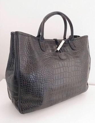 Siyah longchamp çanta