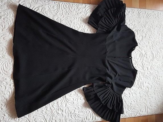 38 Beden siyah Renk siyah kisa ellbise