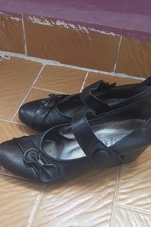 vintage topuklu ayakkabı