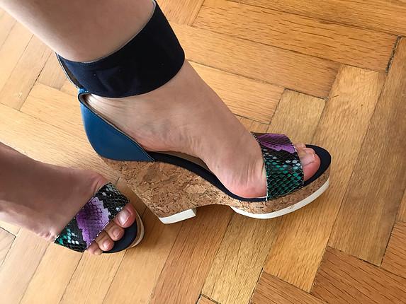 Elle dolgu tapuk ayakkabi