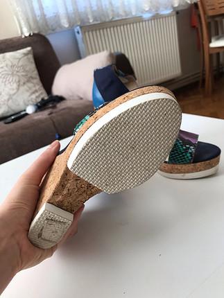 Elle Elle dolgu tapuk ayakkabi