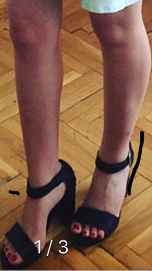 37 Beden siyah Renk Elle siyah ayakkabi