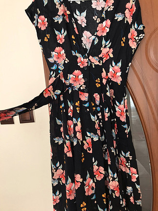 Zara Zara cicekli elbise