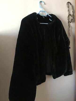 H&M Siyah Kürk