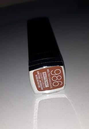986 Numara Melted Chocolate Ruj Maybelline Maybelline Makyaj 100