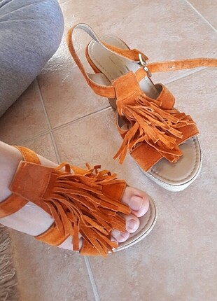 Koton Dolgu topuk ayakkabı