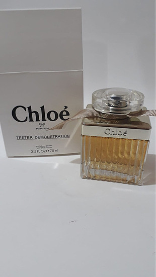 Chloe signature 75ml Orijinal Tester Parfüm