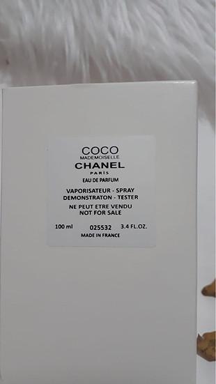 Chanel Coco Mademoiselle Paris 100ml Orijinal Bayan Tester Parfü