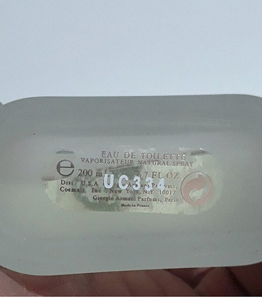 Armani acqua 200ml Orijinal Erkek Tester Parfüm