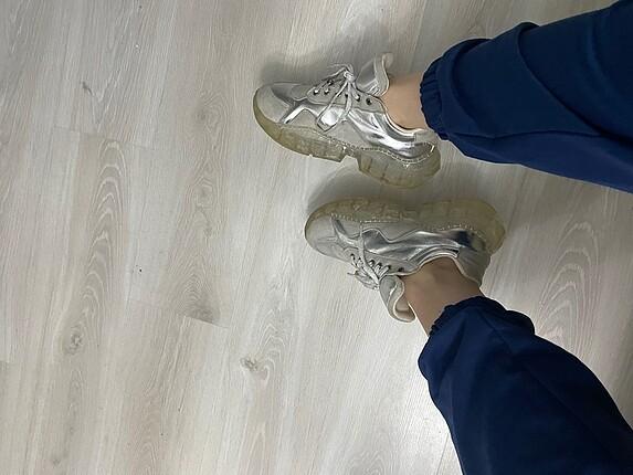 Zara Gri spor ayakkabı
