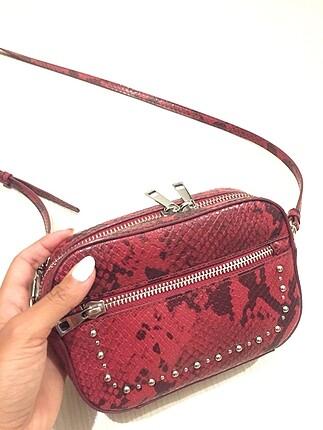 Zara 2 kere kullanılmış yeni çanta