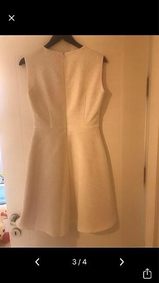 Beyaz nikah elbisesi adil ışık