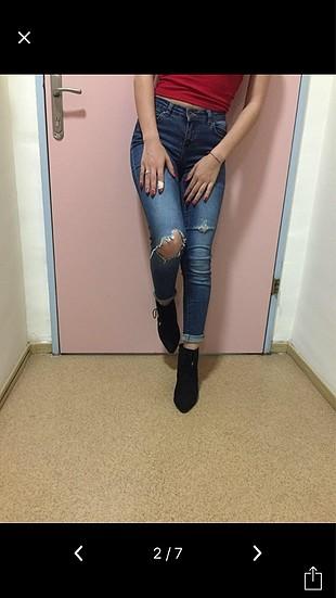 Koton Koton Yırtık Kot Pantolon