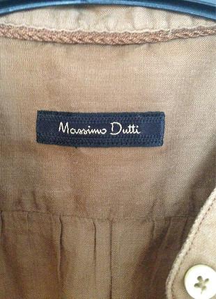 Massimo Dutti Kahve Gömlek