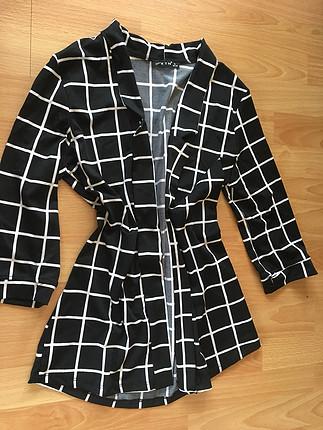 Mango Dalgıç kumaş kapri kol ceket