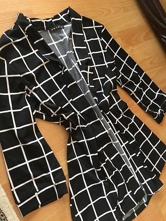s Beden Dalgıç kumaş kapri kol ceket