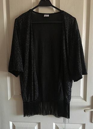 Püsküllü Kimono