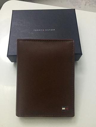 Tommy hilfiger kahverengi erkek cüzdanı