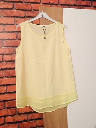 sarı askılı gömlek