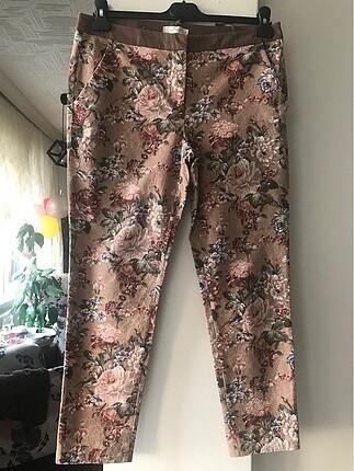 Kahverengi desenli Yargıcı pantolon