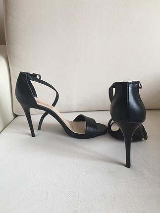 39 Beden siyah Renk Bambi ayakkabı