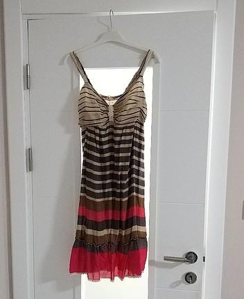 Yazlık vintage elbise