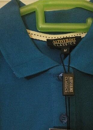 m Beden mavi Renk Bayan tişört