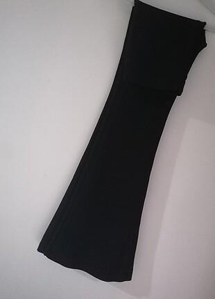 s Beden siyah Renk İspanyol paça tayt
