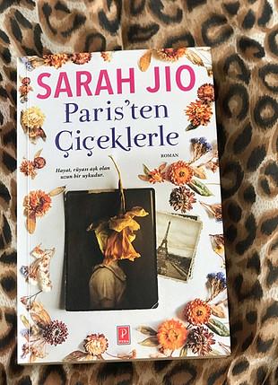 Orjinal kitap Paristen Çiçeklerle