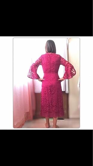 Koton Bordo elbise