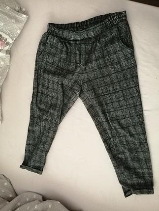 40 beden kısa paça kışlık pantolon