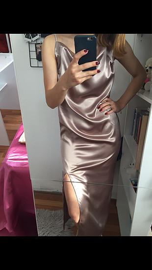 Tasarımcı Saten elbise