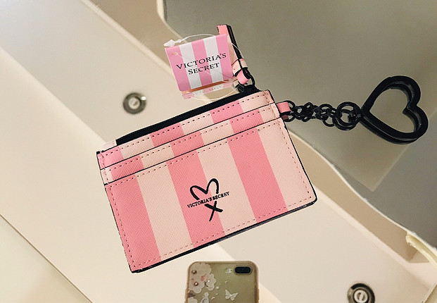 Victoria s Secret Orjinal marka victoriassecret mini cüzdan ve kartlık