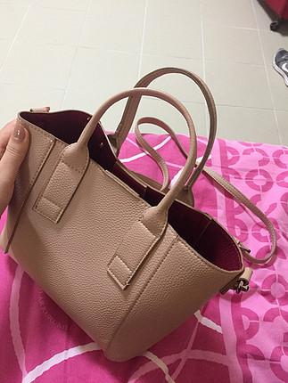 universal Beden ten rengi Renk Askılı çanta
