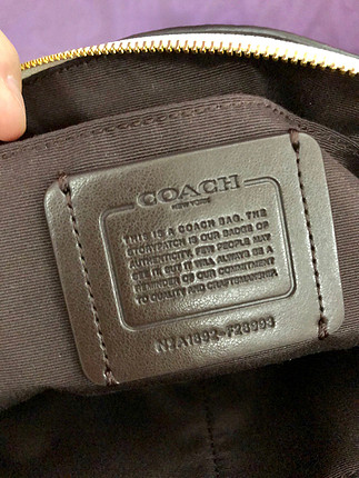 Coach Coach sıfır çanta