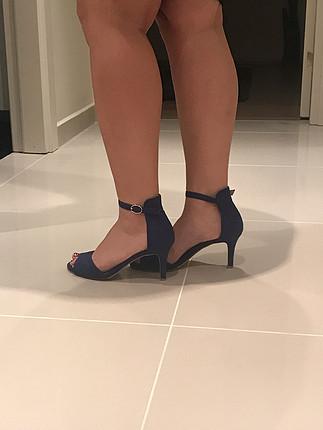 37 Beden Mavi ayakkabı
