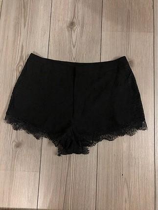 H&M Super Mini Siyah Sort