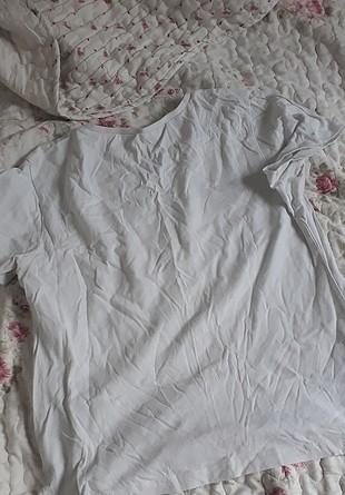 s Beden beyaz Renk Koton tişört