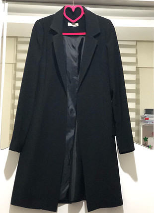 s Beden siyah Renk Safiye ekiz tasarımı blazer ceket