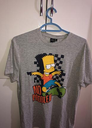 Bershka The Simpsons Tshirt