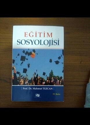 Eğitim sosyolojisi Mahmut Tezcan