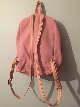 Toz pembe sırt çantası